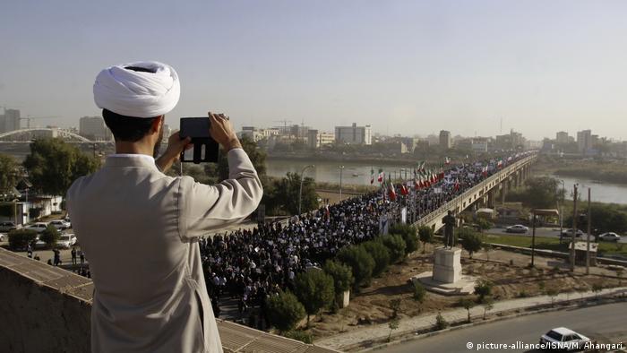 Iran Stadt Ahvaz (picture-alliance/ISNA/M. Ahangari)