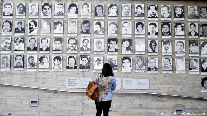 Chile gedenkt Opfer der Militärdiktatur (picture-alliance/Zuma/L. Vargas)