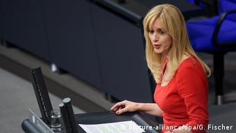 Рената Альт, депутат бундестага от Свободной демократической партии (СвДП)
