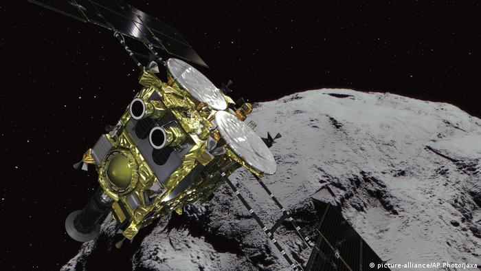 Japanese space probe Hayabusa 2: Mission to explore universe's origins