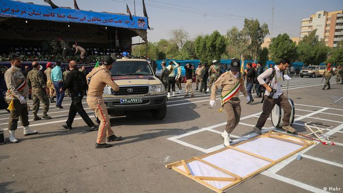 Iran Militärparade Parade