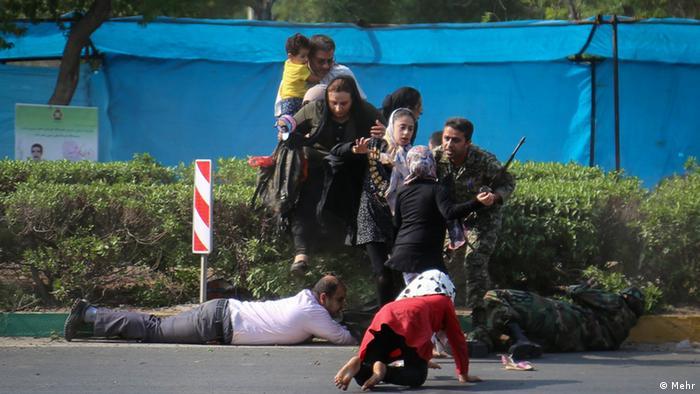 Iran Militärparade Parade (Mehr)