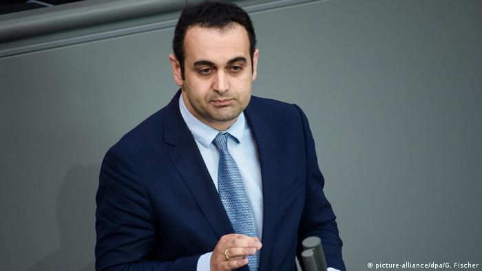 Эксперт СвДПР Биджан Джир-Сарай в германском бундестаге