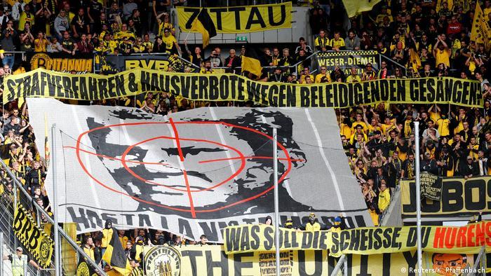 Bundesliga 4. Spieltag | TSG Hoffenheim vs. Borussia Dortmund | Fans Dortmund