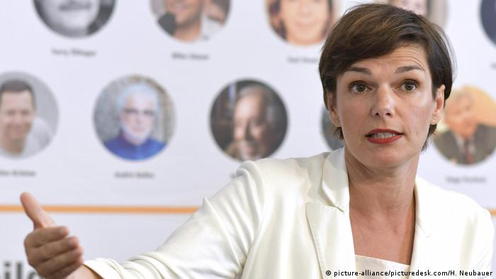Austria's Pamela Rendi-Wagner, leader of the SPÖ (picture-alliance/picturedesk.com/H. Neubauer)