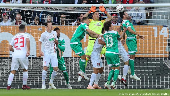 Bundesliga 4. Spieltag   FC Augsburg vs. Werder Bremen (Getty Images/Bongarts/C. Kaspar-Bartke)