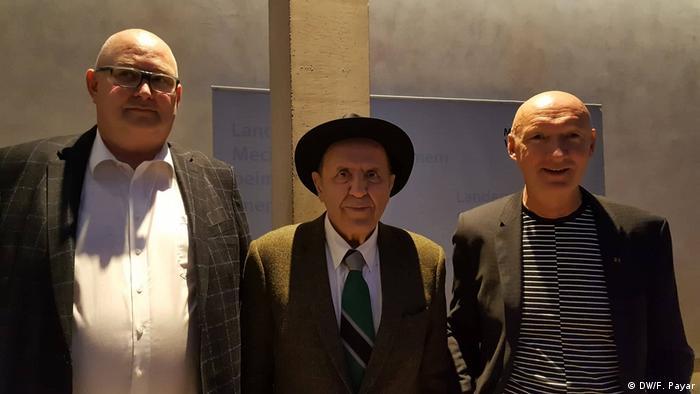 جواد مجابی، نویسنده ایرانی، میهمان ویژه اهدای جایزه ادبی اووه یونسون در برلین