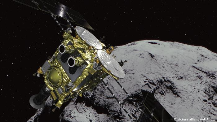 Japan Space Probe (picture alliance/AP Photo)