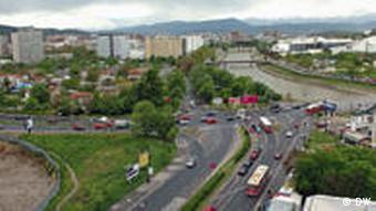 Panoramabild von Skopje Bild: Petr Stojanovski