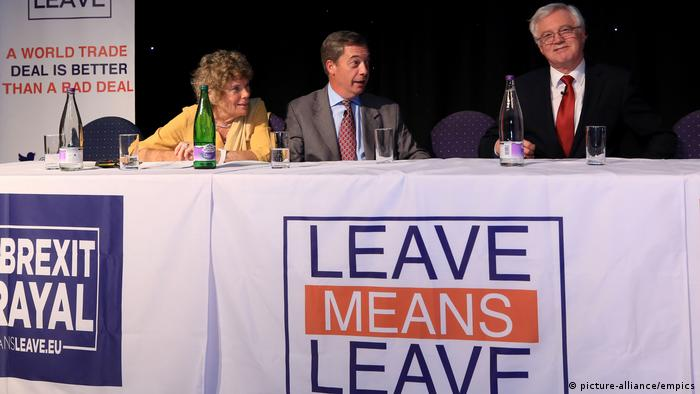 Großbritannien Brexit-Treffen in Bolton (picture-alliance/empics)
