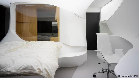 Future Hotel des Fraunhofersinstituts in Duisburg Flash-Galerie