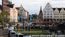 AfD-Demonstration in Rostock