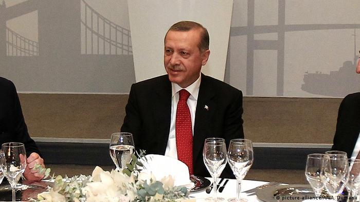 Prezydent Turcji Recep Tayip Erdogan
