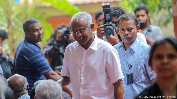 Malediven Präsidentschaftswahl (Getty Images/AFP/A. Shurau)