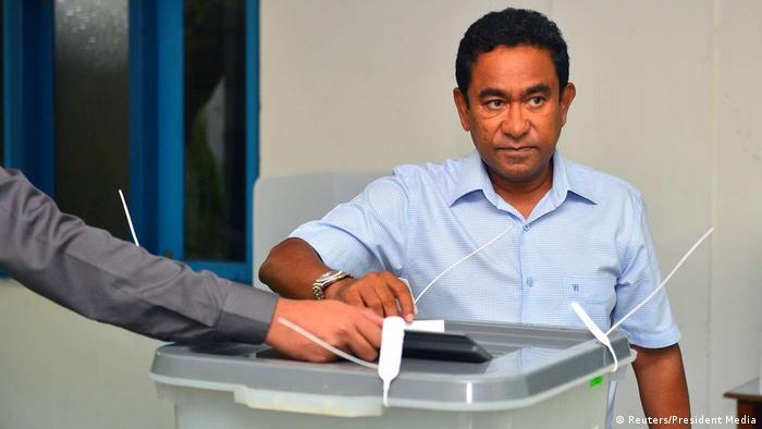 Malediven Präsidentschaftswahl (Reuters/President Media)