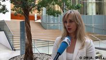Renate Alt, FDP MdB im Interview mit der DW Europa zum Kosovo Serbien Dialog. Interview Nenad Kreizer und Anila Shuka. Foto Anila Shuka Ort Bundestag am 7 September 2018