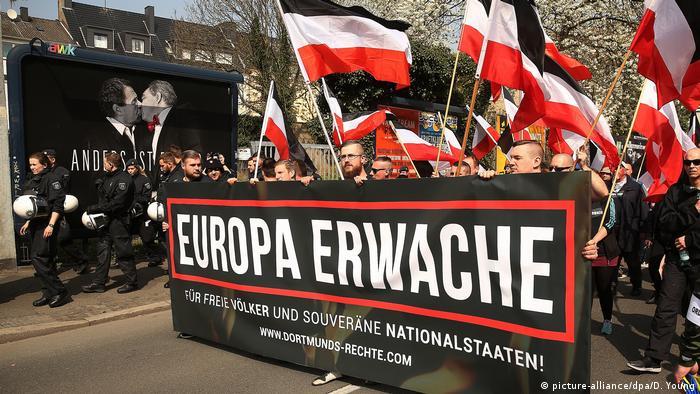 Dortmund Demonstration von Rechtsextremisten