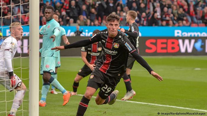 Fußball Bayer 04 Leverkusen v 1. FSV Mainz 05 - Bundesliga Tor
