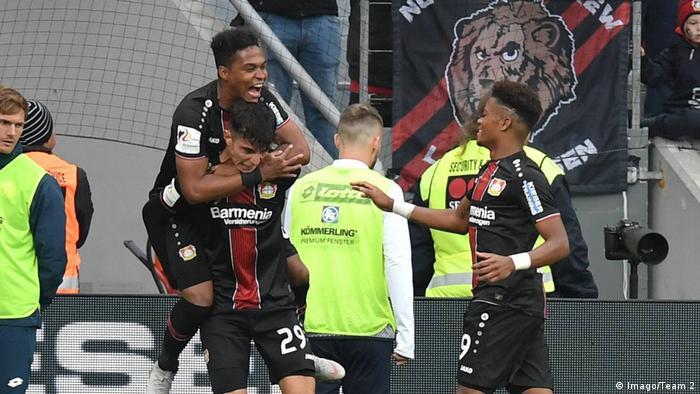 Fußball Bayer 04 Leverkusen v 1. FSV Mainz 05 - Bundesliga Tor (Imago/Team 2)