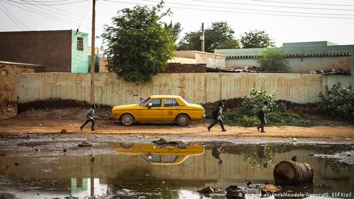 A street in Khartoum