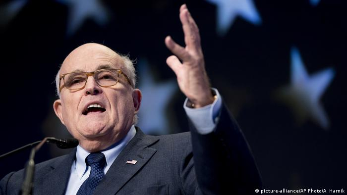 USA Rudy Giuliani (picture-alliance/AP Photo/A. Harnik)