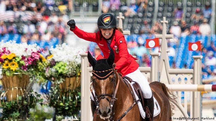 Reit-Weltmeisterschaft in Tryon Simone Blum