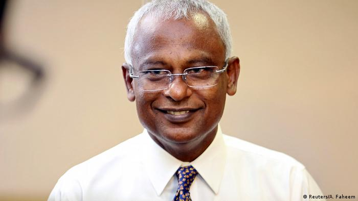 Malediven Ibrahim Mohamed Solih (Reuters/A. Faheem)