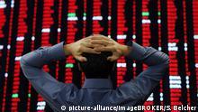 Symbolbild Turbulenzen am Finanzmarkt