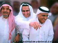 Саудівські активісти Абдулла аль-Хамід, Мохаммад Фахад аль-Кахтані і Валід Абу аль-Хаїр