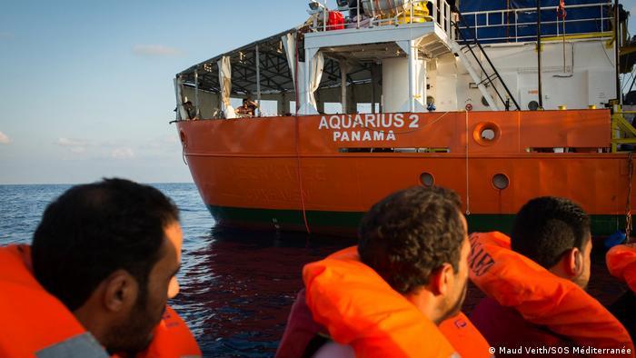 Rettungsschiff Aquarius 2 (Maud Veith/SOS Méditerranée)