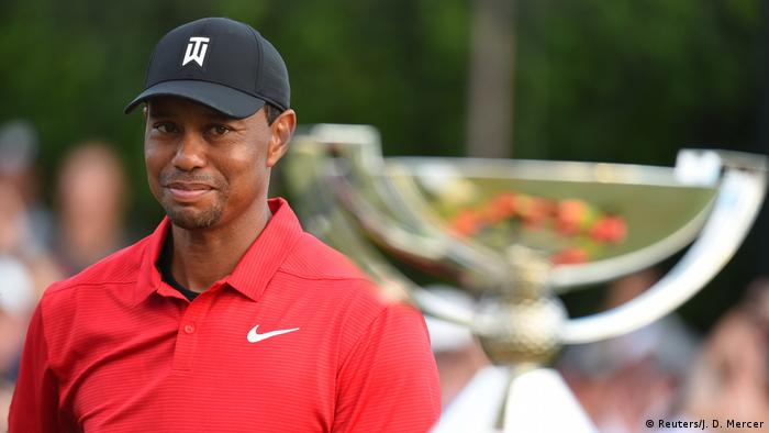 Tiger Woods picked up his first win for five year in 2018 (Reuters/J. D. Mercer)
