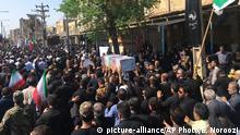Iran Trauerfeier nach dem Anschlag in Ahwas