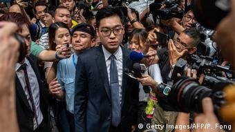 Hong Kong Andy Chan Gründer der Nationalen Partei