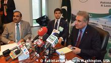 USA Shah Mehmood Qureshi, Botschafter Pakistan & Maleeha Lodhi in Washington