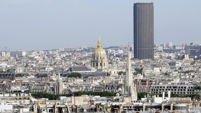 Frankreich Aussicht vom Arc de Triomphe in Paris (picture-alliance/imageBroker/E. Bömsch)