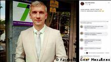 Screenshot Facebook von Oleg Mykhaylyk