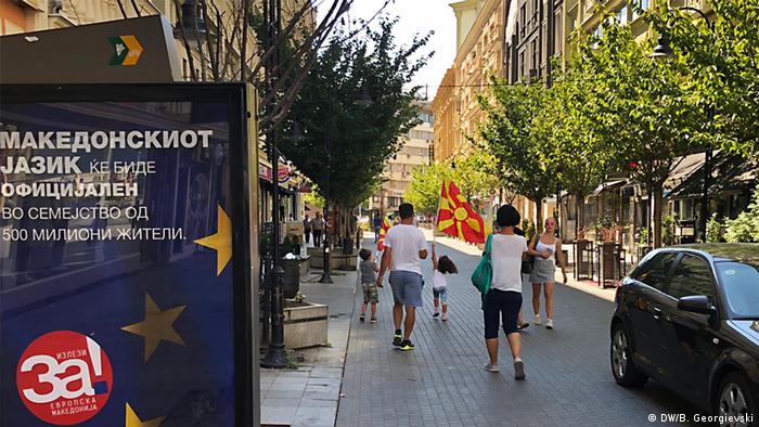 Mazedonien vor dem Referendum über Namensänderung