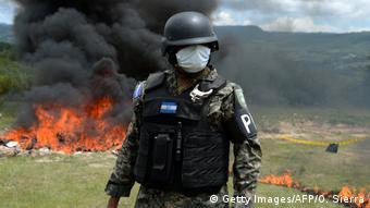 Drogenkrieg in Honduras - Polizeirazzia