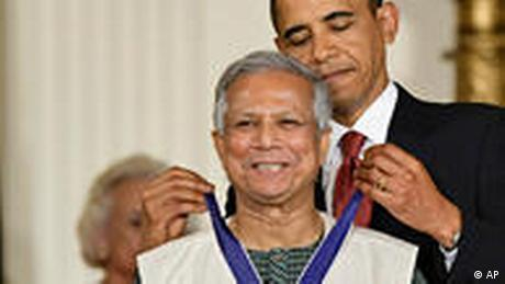Medal of Freedom Barack Obama Muhammad Yunus
