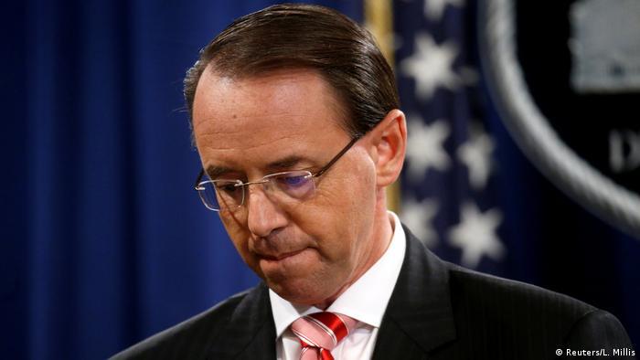 Rod Rosenstein, United States Deputy Attorney General in Washington