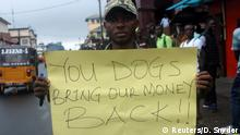 Liberia - BringBackOurMoney-Protest in Monrovia