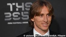 Fussball The Best Fifa Award 2018 in London l Spieler Luka Modric (picture-alliance/dpa/Sputnik/A. Filippov)