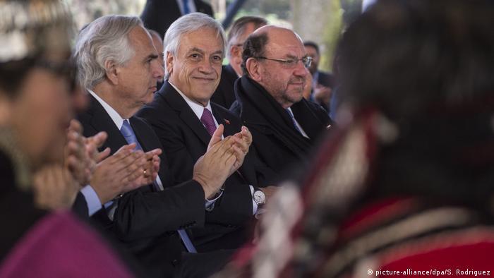 Chile kündigt Entwicklungsplan für Mapuche-Region an (picture-alliance/dpa/S. Rodriguez)