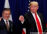Мун Чже Ін та Дональд Трамп