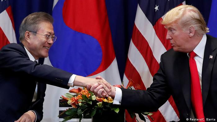 USA und Südkorea schließen neues Handelsabkommen (Reuters/C. Barria)
