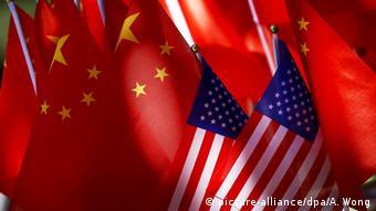 USA China Symbolbild Wirtschaftskrieg