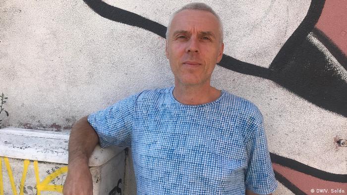 Bosnien und Herzegowina   Jugendliche und Politik   Husein Orucevic (DW/V. Soldo)