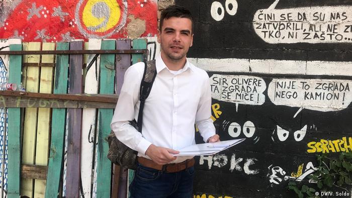 Bosnien und Herzegowina   Jugendliche und Politik   Sanje Marinko (DW/V. Soldo)