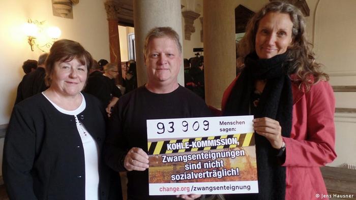 Hannelore Wodtke, Antje Grothus und Jens Hausner. (Foto: Jens Hausner)