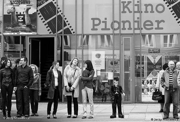 Kino Pionier, Fassade. Foto: Jerzy Miśkiewicz
